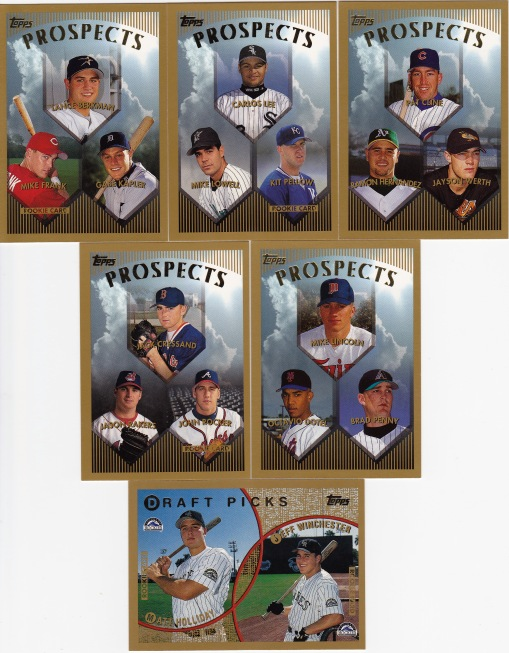 1999 Topps Propects Draft