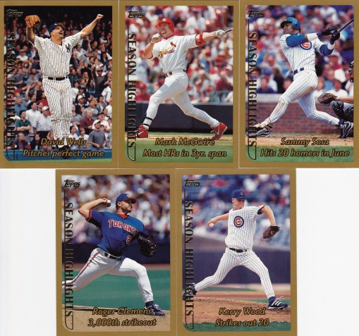 1999 Topps Season Highlights