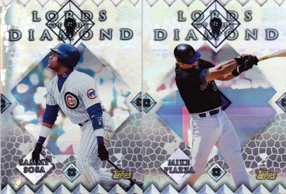 1999 Topps series 1 box Lords of Diamond