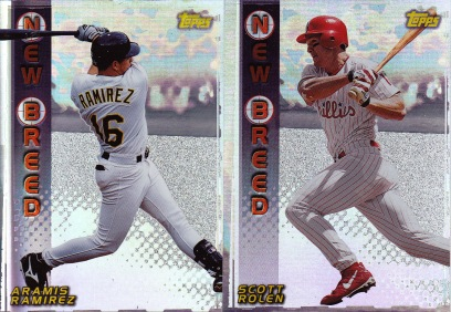 1999 Topps series 1 box New Breed