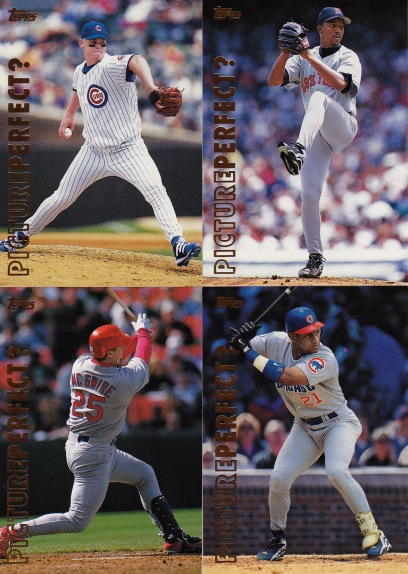 1999 Topps series 1 box Picture Perfect