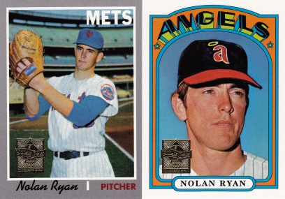 1999 Topps series 1 box Ryan inserts