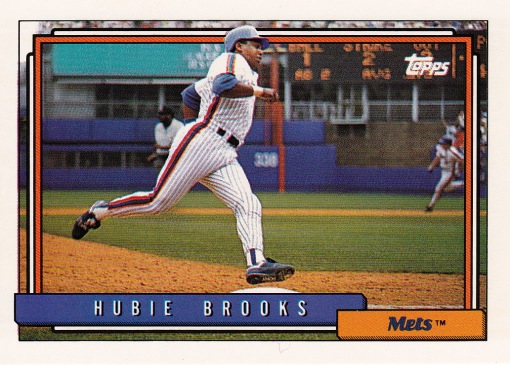 1992 Topps Hubie Brooks