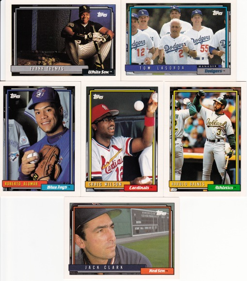 1992 Topps other notable