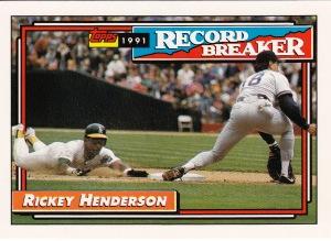1992 Topps Rickey RB 939