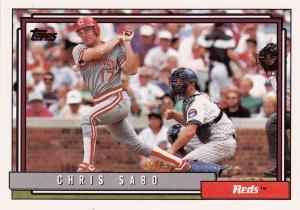 1992 Topps Sabo 485