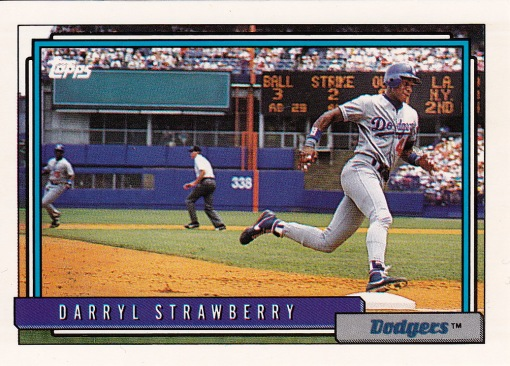1992 Topps Strawberry