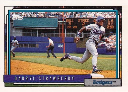 1992 Topps Strawberry