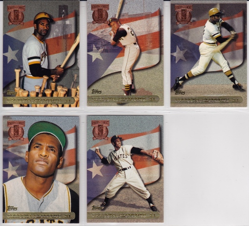 1998 Topps Clemente Tribute complete set