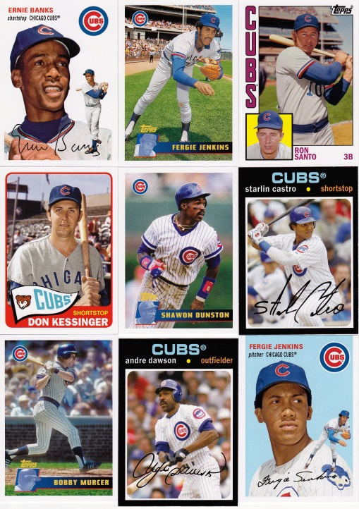 2013 Cubs Topps Archives