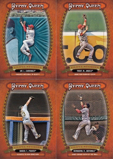 2013 Gypsy Queen box 2 Glove Stories