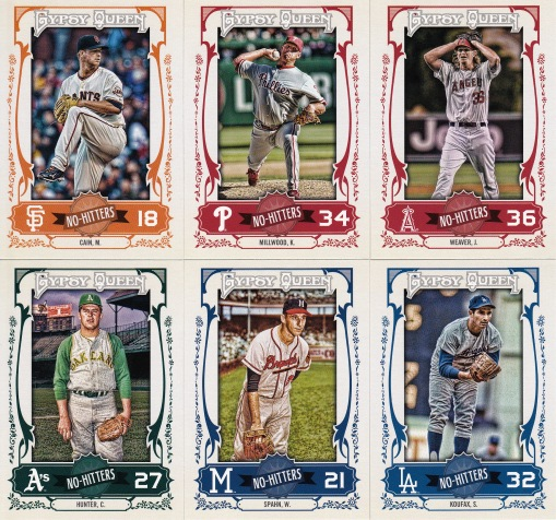 2013 Gypsy Queen box 2 No Hitters