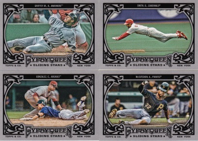 2013 Gypsy Queen box 2 Sliding Stars