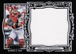 2013 Gypsy Queen Jumbo Patch Mesoraco