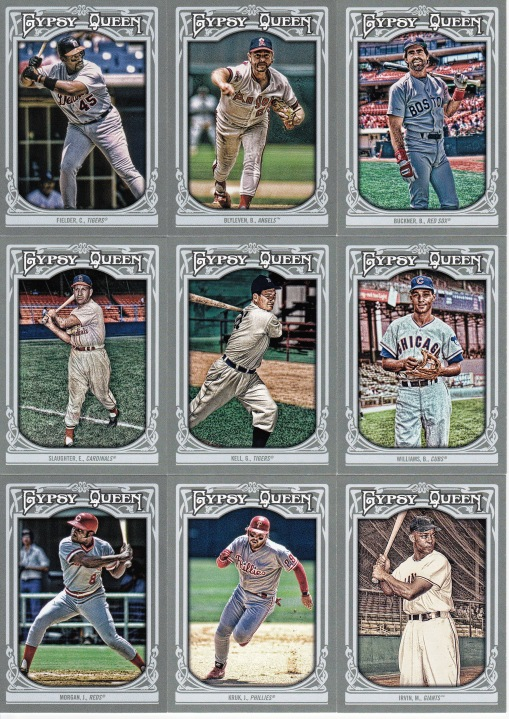 2013 Gypsy Queen new retired players