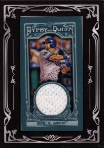 2013 Gypsy Queen relic Napoli