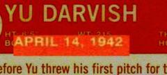 2013 Heritage 125 Darvish date