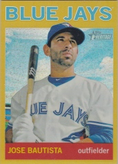 2013 Heritage Chrome Gold Bautista