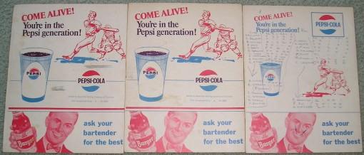 Reds Scorecard - 1966 - Burger Beer