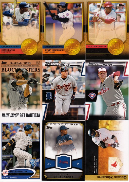 Trade Anthony June 13 - Topps 2012 Inserts