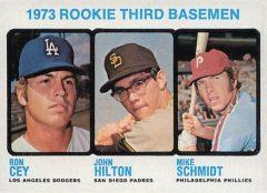 1973 topps Mike Schmidt
