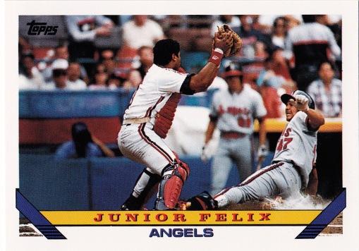 1993 Topps Junior Felix