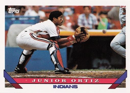 1993 Topps Junior Ortiz