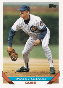 1993 Topps Mark Grace 630 last card