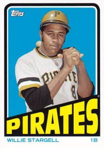 2013 Archives retail 72 BK Stargell