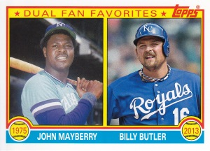 2013 Archives retail Dual Fan Favorites Mayberry Butler
