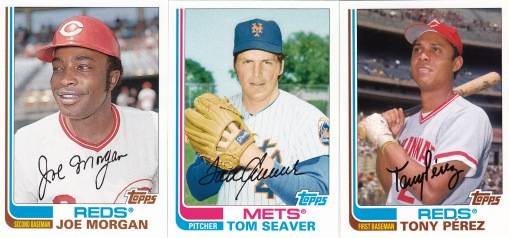 2013 Topps Archives 1982 wrong team