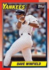 2013 Topps Archives Dave Winfield 1990