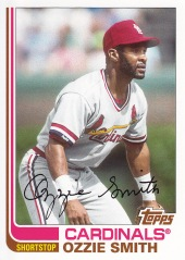 2013 Topps Archives Ozzie Smith