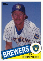 2013 Topps Archives Robin Yount 1985