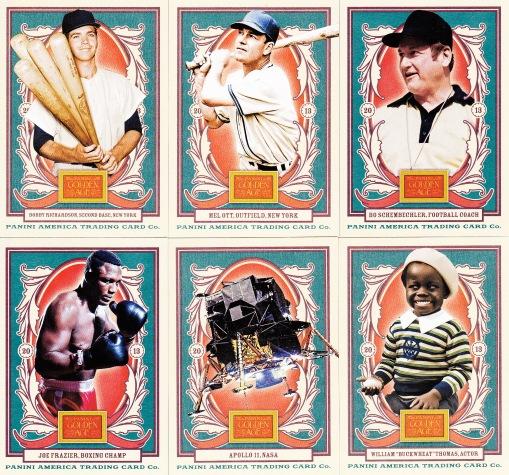 2013 Golden Age box base cards