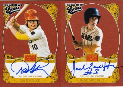 2013 Golden Age Relic Bad News Bears autos