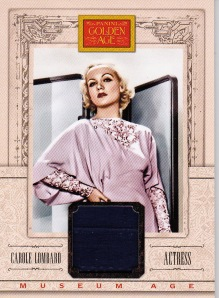 2013 Golden Age Relic Carole Lombard