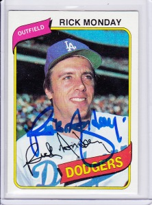 National - Rick Monday auto