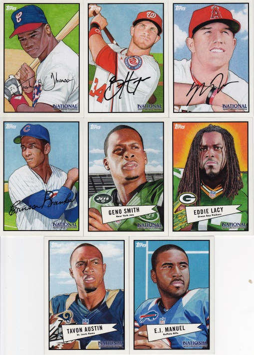 National - Topps wrapper redemption