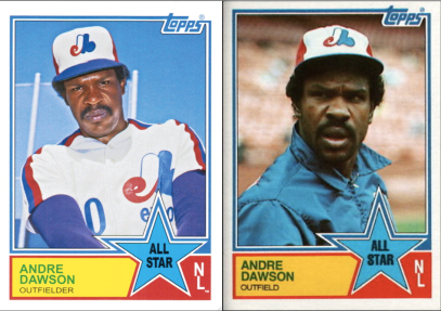 2013 Archives 83 AS Andre Dawson