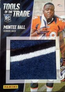 Montee Ball patch Panini national