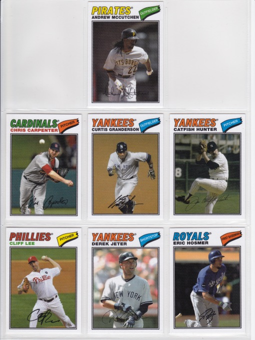 2012 Topps Archives 77 Cloth