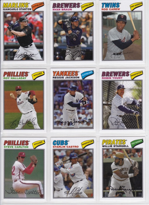 2012 Topps Archives 77 Cloth_0002