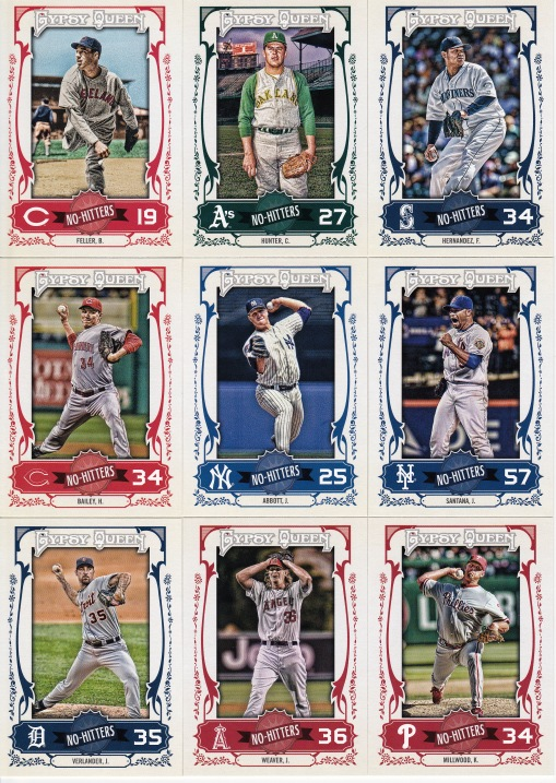 2013 Gypsy Queen No Hitters
