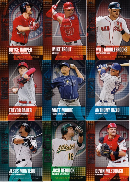 2013 Topps Chasing the Dream