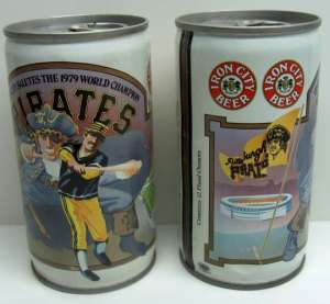 IC beer can 1979 Pirates