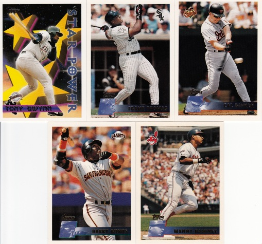 1996 Topps 1st and the 00s