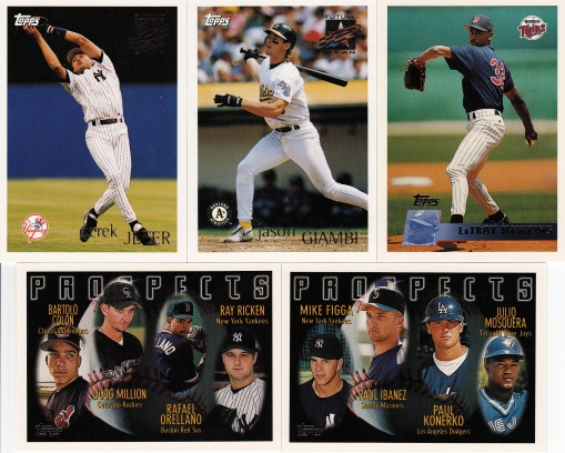 1996 Topps last active players