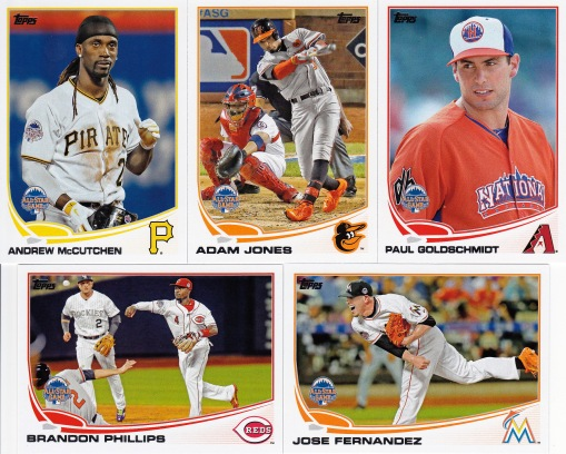 2013 Topps Update All-Stars