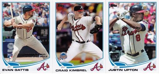 2013 Topps Update Braves